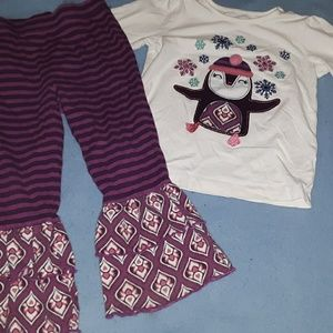 2T Peguin Outfit